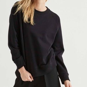 Richer Poorer Women's Fleece Sweatshirt in Black